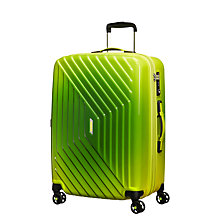 Buy American Tourister Air Force 1 4-Spinner 66cm Suitcase, Gradient Yellow Online at johnlewis.com