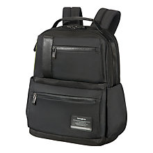 "Buy Samsonite OpenRoad Laptop Backpack 15.6"", Black Online at johnlewis.com"