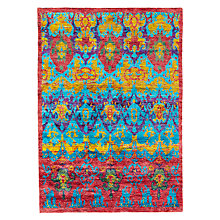 Buy Ramezani Sari Silk Horizon Rug, 165 x 240cm, Multi Online at johnlewis.com