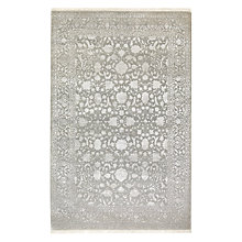 Buy Ramezani Ferahan Keshan Hand Knotted Rug, L241 x W169cm, Silver Online at johnlewis.com
