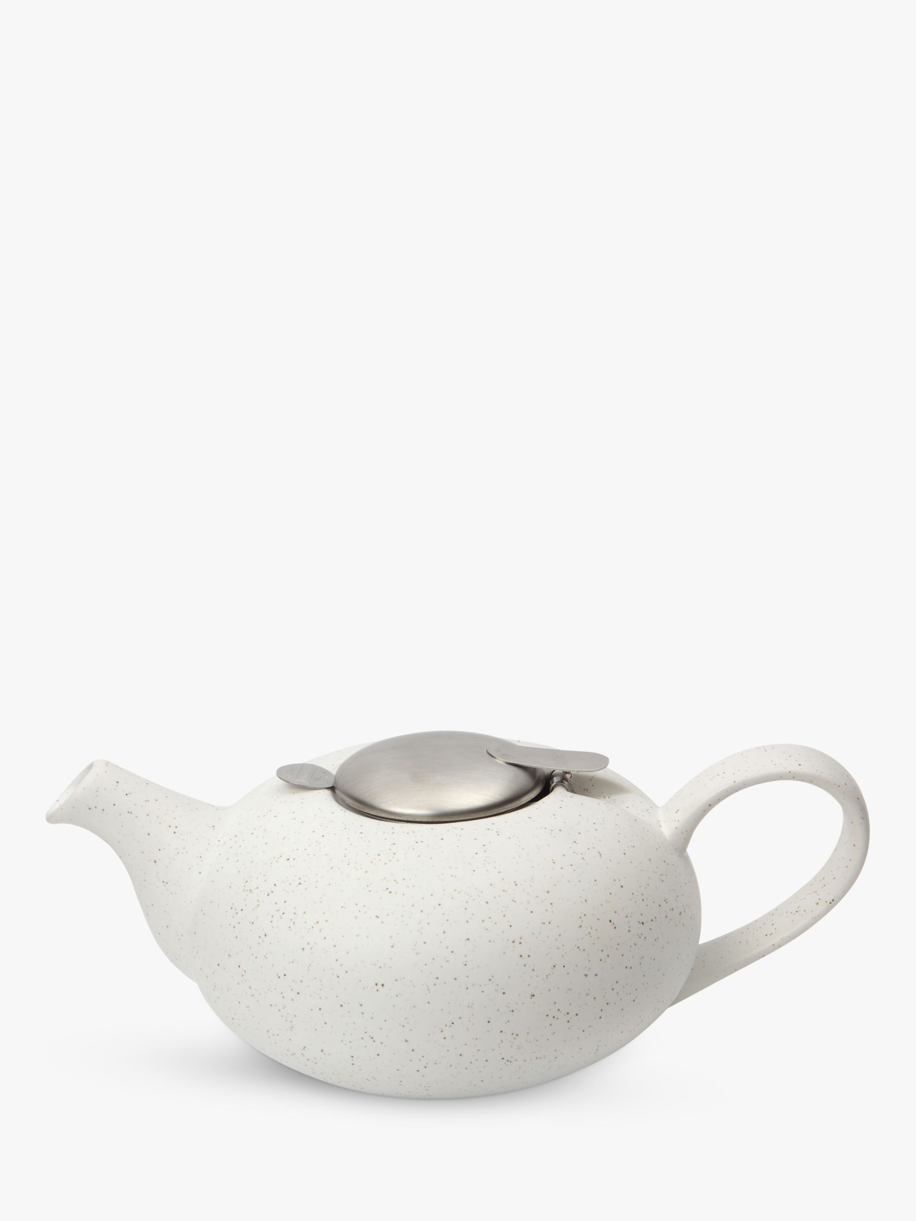 London Pottery London Pottery Speckled Pebble Teapot, 2 Cup, White