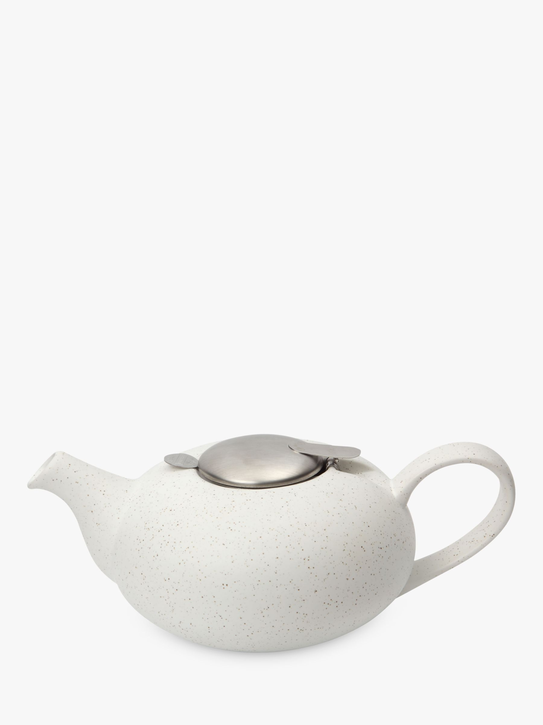 London Pottery London Pottery Speckled Pebble Teapot, 4 Cup, White