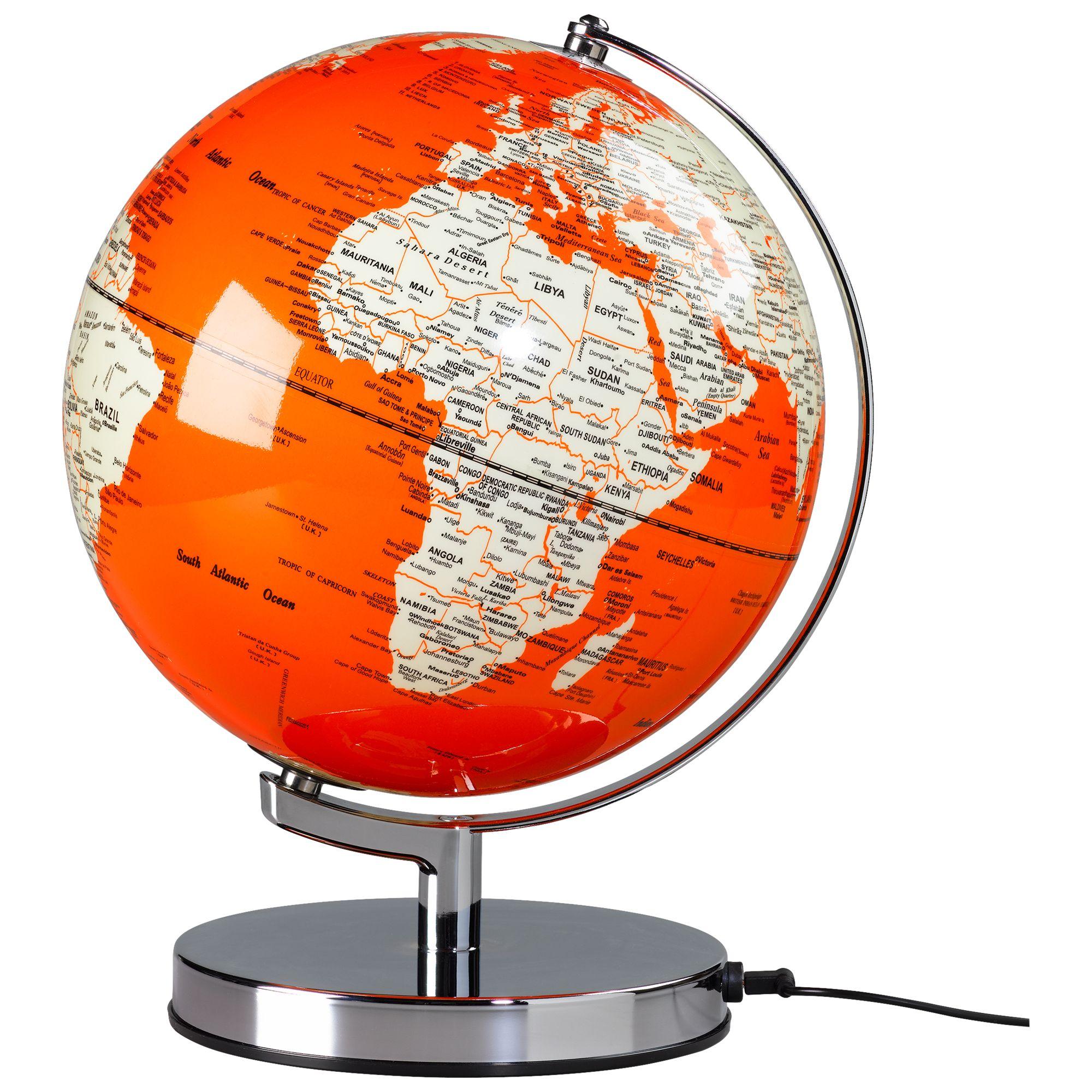 Wild & Wolf Wild & Wolf Light Up 10 Globe, Goldfish Orange