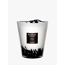 Buy Baobab Black Feathers Candle, 2.5kg Online at johnlewis.com