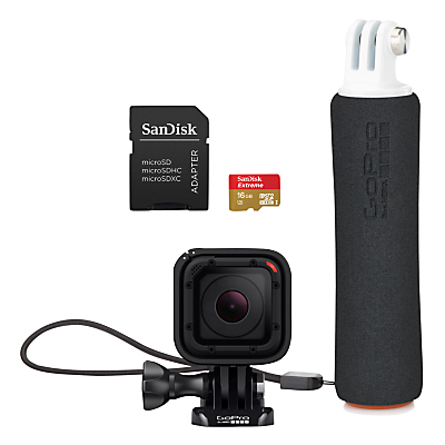 GoPro Hero Sessions Camera with Floating Hand Grip and 16GB microSDTM Card
