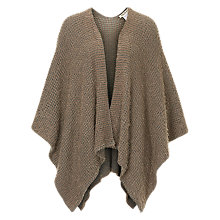 Buy Betty Barclay Knitted Poncho, Taupe/Grey Online at johnlewis.com