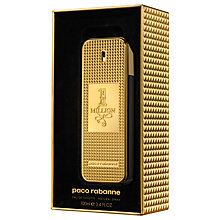 Buy Paco Rabanne 1 Million Eau de Toilette Collector's Edition, 100ml Online at johnlewis.com