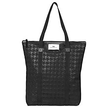 Buy Et DAY Birger et Mikkelsen Day Gweneth Checked Tote Bag, Black Online at johnlewis.com