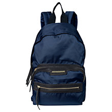 Buy Et DAY Birger et Mikkelsen Zipper Backpack, Midnight Blue Online at johnlewis.com