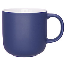 Buy John Lewis Puritan Mug, Midnight Blue Online at johnlewis.com