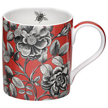 Buy Sanderson Etch Rose Mug Online at johnlewis.com