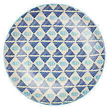 Buy Pols Potten Dakara 20cm Plate, Triangle Blues Online at johnlewis.com