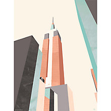 Buy Michelle Collins - Empire State Unframed Print, 40 x 30cm Online at johnlewis.com