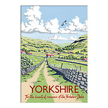 Buy Kelly Hall - Yorkshire Unframed Print with Mount, 30 x 40cm Online at johnlewis.com