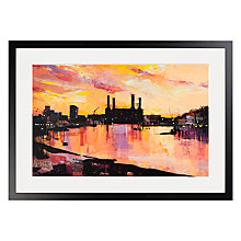 Buy Ben Phillips - Bankside & Battersea Framed Print, 70 x 50cm Online at johnlewis.com