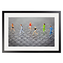 Buy David Gilliver - Just Popping To The Shops Framed Print, 70 x 50cm Online at johnlewis.com