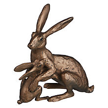 Buy Frith Sculpture Tulip And Thimble Hares by Thomas Meadows Online at johnlewis.com