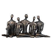 Buy Libra Sitting Companions Sculpture Online at johnlewis.com