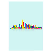 Buy House by John Lewis, Yoni Alter - New York Skyline Unframed Print, 30 x 40cm Online at johnlewis.com