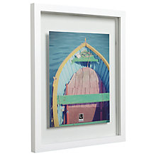"Buy Umbra Floating Photo Frame, 8 x 10"" Online at johnlewis.com"