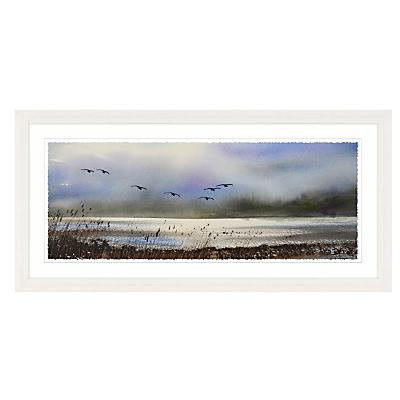Keith Nash – Over The Marsh Framed Print, 107 x 52cm