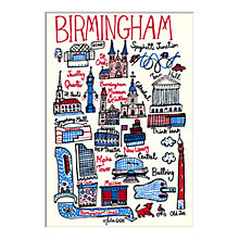 Buy Julia Gash - Birmingham Unframed Print with Mount, 30 x 40cm Online at johnlewis.com