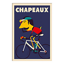 Buy Spencer Wilson - Chapeaux Unframed Print, 40 x 30cm Online at johnlewis.com