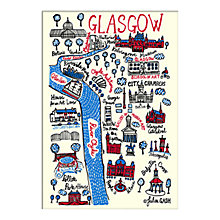 Buy Julia Gash - Glasgow Unframed Print with Mount, 30 x 40cm Online at johnlewis.com