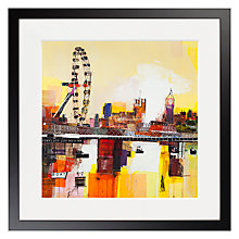 Buy Ben Phillips - The Eye Of London Framed Print, 50 x 50cm Online at johnlewis.com