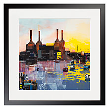 Buy Ben Phillips - Battersea Framed Print, 50 x 50cm Online at johnlewis.com