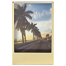 "Buy Umbra Acrylic Portrait Photo Frame, 4 x 6"", Brass Online at johnlewis.com"