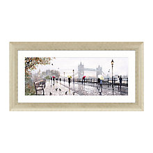 Buy Richard Macneil - Tower Bridge Framed Print, 112 x 57cm Online at johnlewis.com