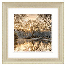 Buy Assaf Frank - Autumn Walk II Embellished Framed Print, 70 x 70cm Online at johnlewis.com