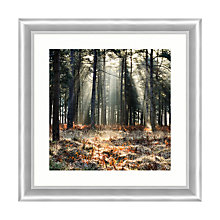 Buy Ian Badley - Shining Through Framed Canvas Print, 83 x 83cm Online at johnlewis.com