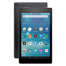 "Buy New Amazon Fire HD 8 Tablet, Quad-Core, Fire OS, Wi-Fi, 16GB, 8"" Screen Online at johnlewis.com"