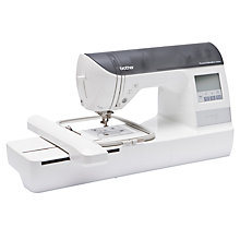 Buy Brother Innov-Is 750 Embroidery Machine, White Online at johnlewis.com