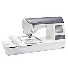 Buy Brother Innov-Is 1250 Sewing and Embroidery Machine, White Online at johnlewis.com