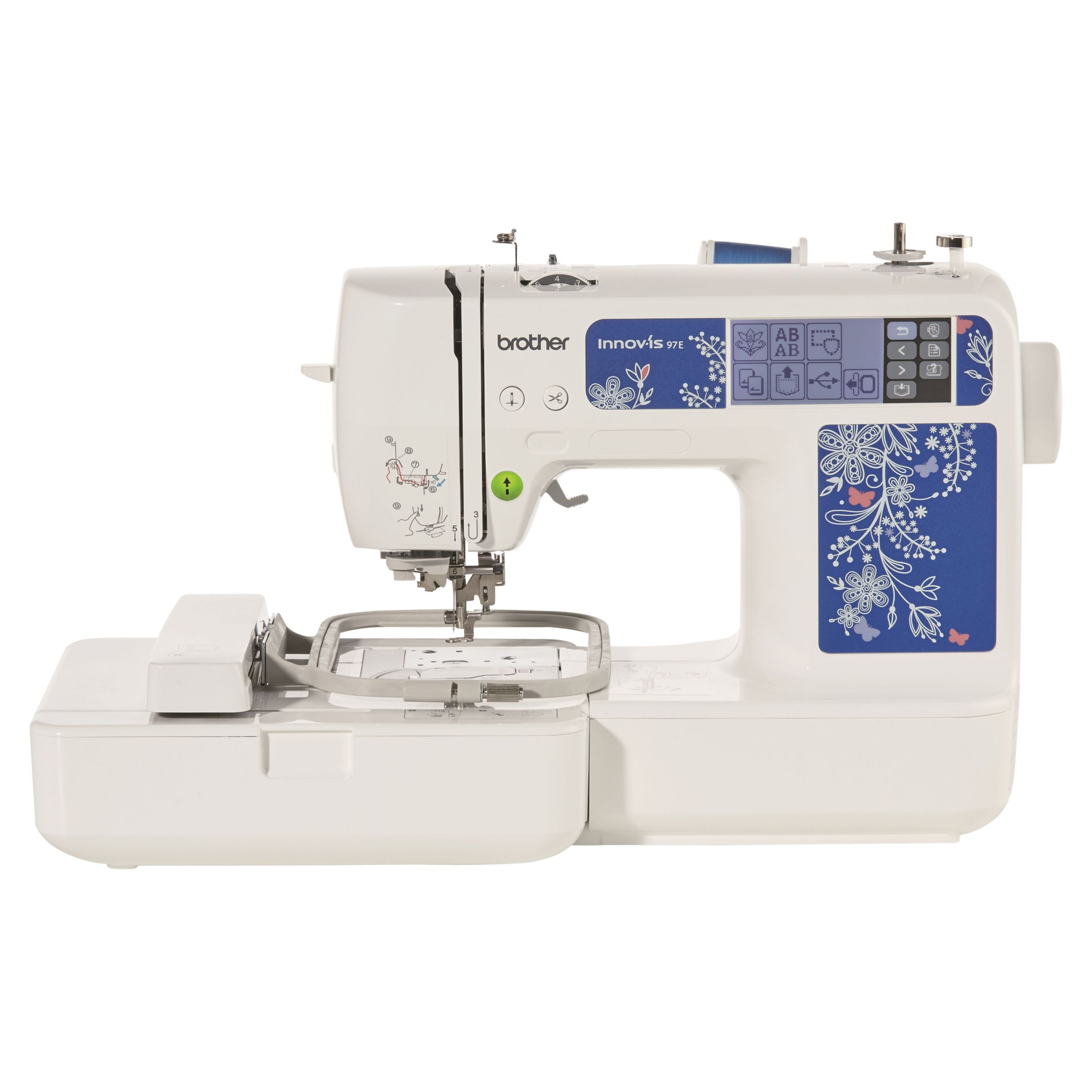 Brother Brother Innov-Is 97E Embroidery Machine, White