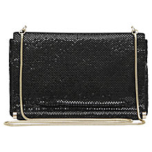 Buy Reiss Rosa Chainmail Small Shoulder Bag, Black Online at johnlewis.com