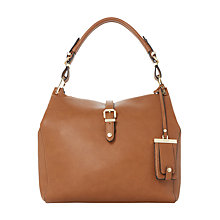 Buy Dune Dessa Hobo Shoulder Bag, Tan Online at johnlewis.com