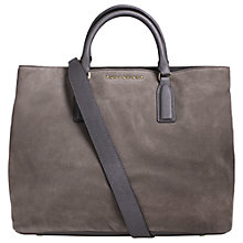 Buy Kurt Geiger Chelsea Nubuck Tote Bag, Grey Online at johnlewis.com