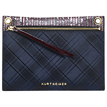 Buy Kurt Geiger Gemini Saffiano Leather Pouch Online at johnlewis.com