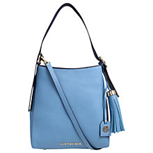 Buy Kurt Geiger Penelope Saffiano Leather Medium Hobo Bag Online at johnlewis.com