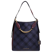 Buy Kurt Geiger Penelope Saffiano Leather Hobo Bag Online at johnlewis.com