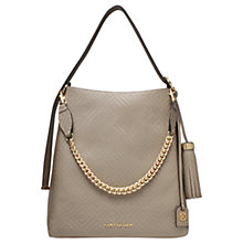 Buy Kurt Geiger Penelope Woven Leather Hobo Bag Online at johnlewis.com