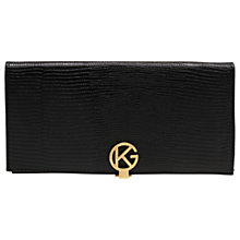 Buy Kurt Geiger Leather Logo Wallet Purse Online at johnlewis.com
