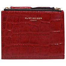 Buy Kurt Geiger Leather Mini Zip Purse Online at johnlewis.com