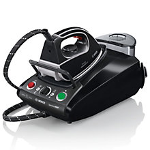 Buy Bosch TDS3761GB Sensixx Steam Generator Iron, Black Online at johnlewis.com