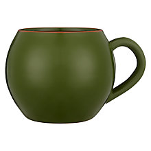 Buy John Lewis Alfresco Bowl Mug, Green Online at johnlewis.com