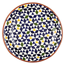 Buy John Lewis Alfresco Patterned Salad Bowl Online at johnlewis.com